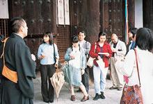 サテライトキャンパス大学院現地講座 興福寺 東金堂(1998年5月)