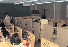 LL教室の授業 (1974年~75年ころ)