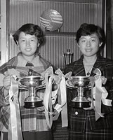 硬式テニス部 1954年関西学生庭球選手権大会優勝