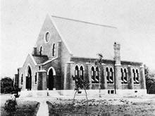 同志社礼拝堂(チャペル)1886年6月25日献堂