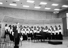 海外演奏旅行(1987年) テキサス州サン・アントニオのコンベンションホール