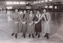 スケート・リンク 1937年度英文科卒業生