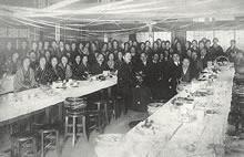 1926年家政科卒業謝恩会 家政館