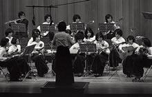 マンドリン部 第5回定期演奏会 大谷ホール(1973年11月8日)