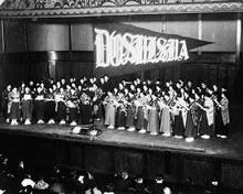 同志社女専・同大グリークラブ演奏旅行 竹内禎子渡欧記念演奏旅行 日本青年会館(1929年3月)