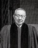 茂義太郎 同志社教会牧師 (牧師在任1946-1968)