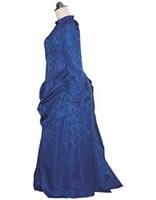 女性宣教師の服装復元(1880~90年ころのバッスルスタイル) 清水久美子製作