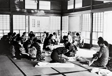 京都支部銃後の仕事会 (1937年9月20日)