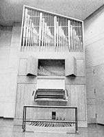 パイプオルガン(頌啓館) 1973年、大音楽室に設置