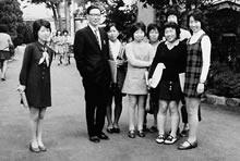 「人間関係」のクラス 酒井康教授担当(1971年秋)