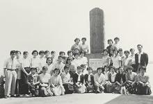新島襄脱奔記念碑(1958年7月)