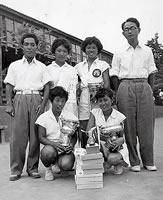 軟式テニス部 1955年全日本大学対抗優勝