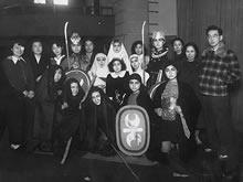 女専生徒による第1回シェイクスピア劇Macbeth  (1951年)
