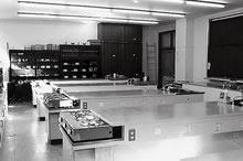 栄養指導実習室(心和館) 家政東館の実習・実験室もここに移転した