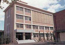 頌啓館(現頌美館) 1967年9月竣工。音楽学科教室・研究室
