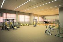 恵真館1階トレーニングルーム