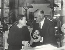 米駐日大使グルーとデントン 於デントン・ハウス(1939年11月24日)