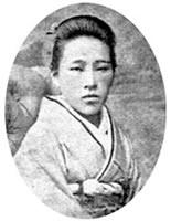 高松新 第6回(1888)卒業。林らとともに女学校助教をしていた