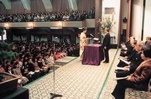 1997年度卒業式