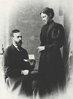 D. W. ラーネッド夫妻