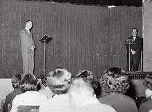 ドラマティック・リーディング ハントレー・グラント教授(1957年)