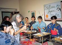 ランカスター大学でのジャパンナイト(1997年)