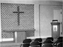 栄光館小礼拝堂