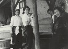 近郊農家援農勤労奉仕 休憩のひととき(1943年)