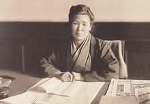 松田道 同志社女学校校長(1922. 2―1928. 1)