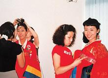 本学からソウル女子大学への派遣(1998年)