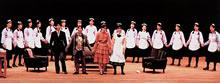 尾崎セミナーによる第1回公演 演目は My Fair Lady (1988年)