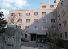 鶴山寮 1969年開寮。田辺校地への展開に伴い1989年閉寮