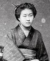 中島茂千代 1886年同志社女学校第4回卒業のち音楽の勉強のため音楽取調掛に進学