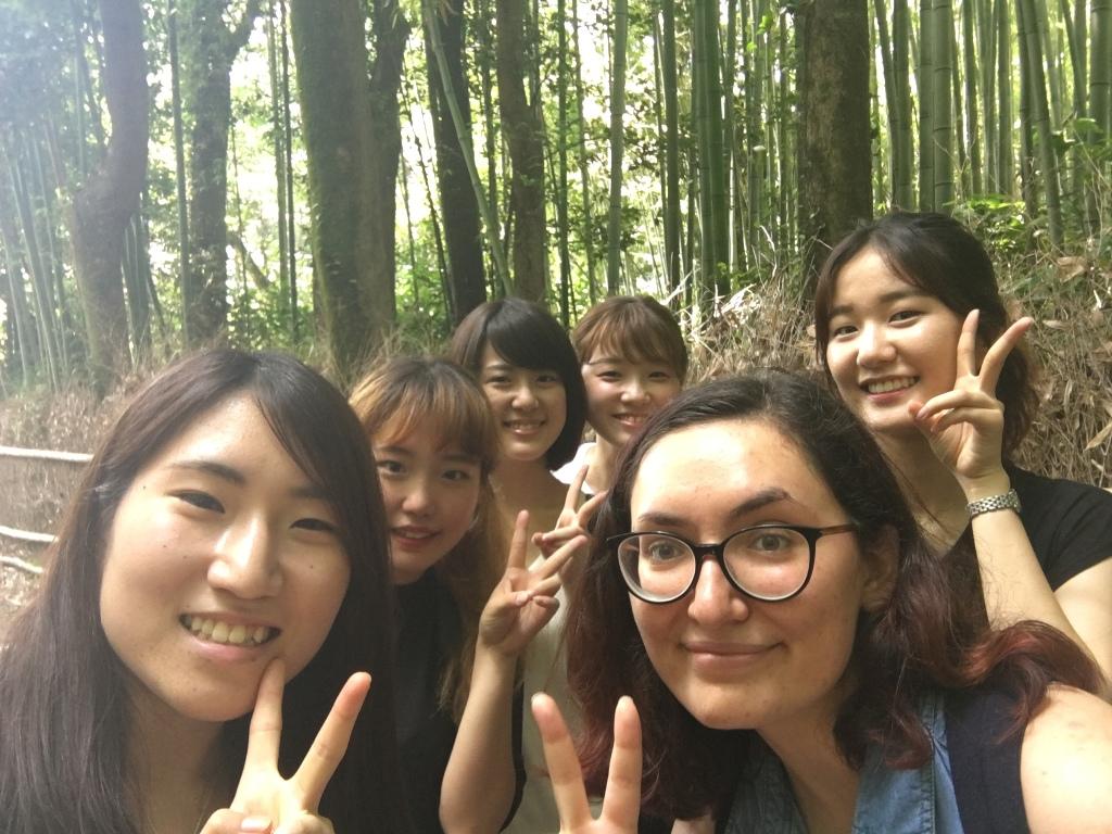Term B フィールドトリップ(学生企画)嵐山周辺散策
