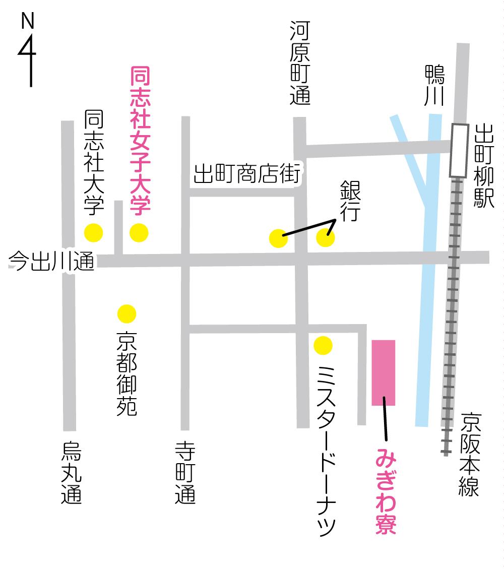 めぐみ寮地図