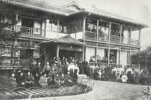 平安寮生の帰省(1910年6月)